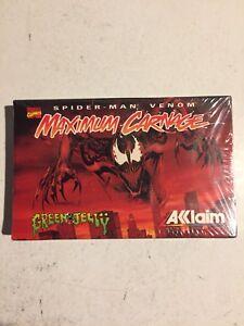 Spiderman Venom Maximum Carnage Aklaim Rare Promo Tape Cassette