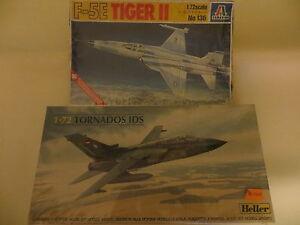 F-5E-TIGER-II-TORNADOS-IDS-ITALERI-HELLER-IN-SCALA-1-72