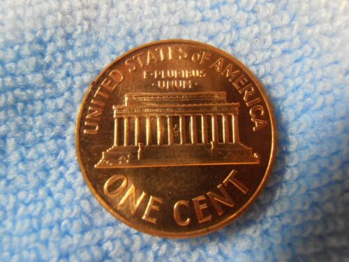 1965 BU Red SMS Lincoln Cent Special Mint Set