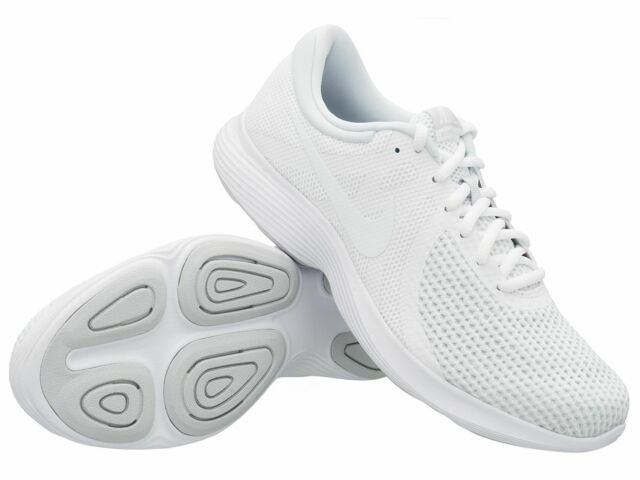 Nike Revolution 4 Herren Sneaker WeißPure PlatinumWeiß, EU 48,5 (AJ3490 100)