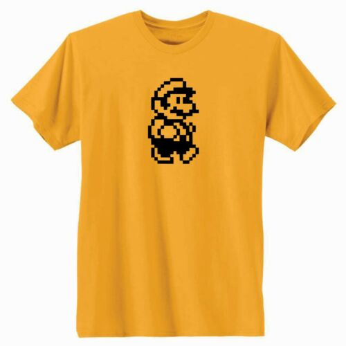 Super Mario Bros 8-Bit Mario T-Shirt