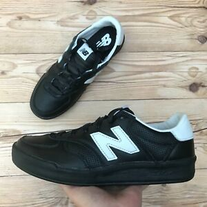 Details about New Balance 300 Leather Court Men's Size 7 Black Sneakers/Shoes RARE! Brand New