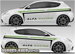 Alfa Romeo Mito Rally 008 Racing Graphics Stickers Car Decals Ebay
