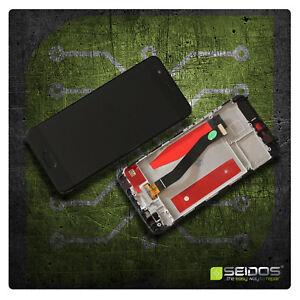 LCD-Display-fuer-Original-Huawei-P10-Komplettes-Touchscreen-Schwarz-Rahmen-NEU