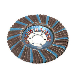 2Pcs-5-039-039-Flap-Sanding-Disc-Round-Sandpaper-Polishing-Wheel-125x22x13mm-NewDesign