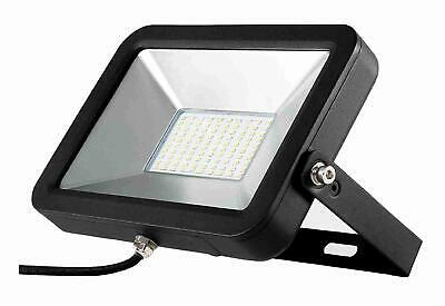 Flutlichtstrahler Aml® Fl-50 Design Led Fluter Strahler Scheinwerfer (schwarz) Rohstoffe Sind Ohne EinschräNkung VerfüGbar