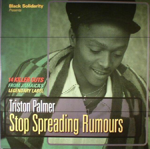 Triston Palmer  - Stop Spreading Rumours NEW CD £9.99 Black Solidarity
