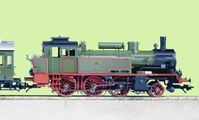 Large-Scale Savings on Model Trains