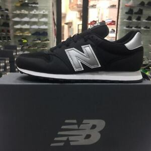 New-Balance-500-Scarpe-Sneakers-Sportive-Casual-mesh-Nera-Black-estate-2019