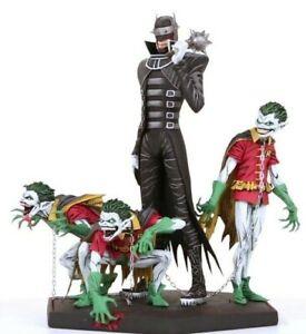 BATMAN WHO RIDES AND ROBIN STATUE IN STOCK DC COMICS DARK NIGHTS METAL