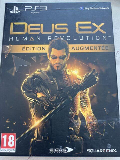 PS3 Deus Ex Human Revolution Edition Augmentée FRA CD état neuf