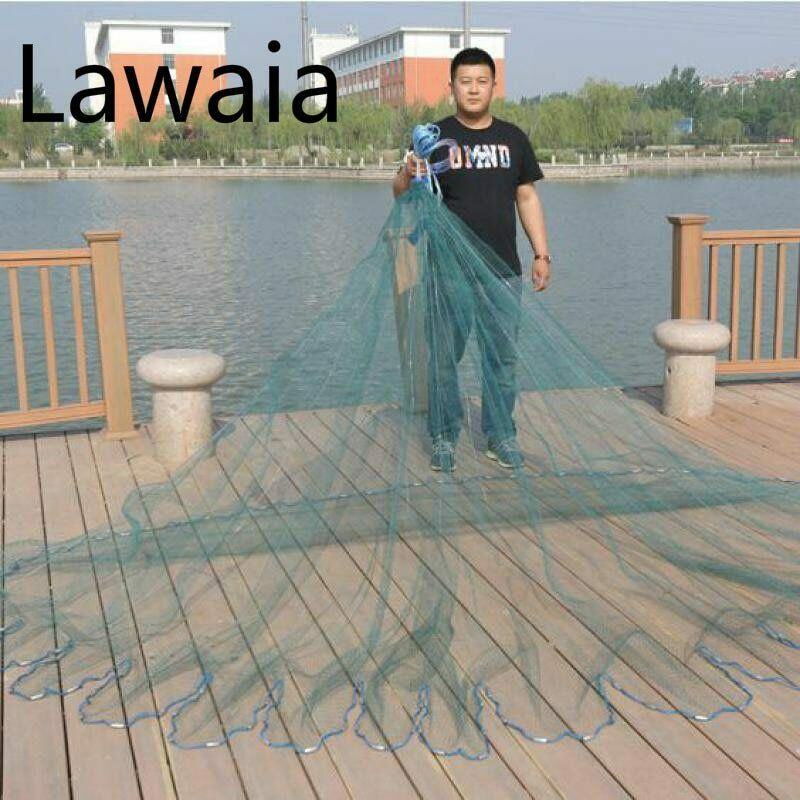 Fishing Net Monofilament Netting Fishing For Fishing Cast Nets 6m Nylon 3m Fishi