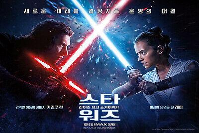 Art Star Wars The Rise Of Skywalker Movie Korea Poster Hot Fabric D 163 Ebay