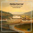 Christian ernst Graf Five String Quartets CD May-2015 CPO