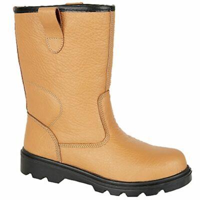 B00020-30 Grafters Steel Toe Fur Lined Rigger Boots, Sizes Uk 3 - 15 M020bsm Einfach Zu Verwenden