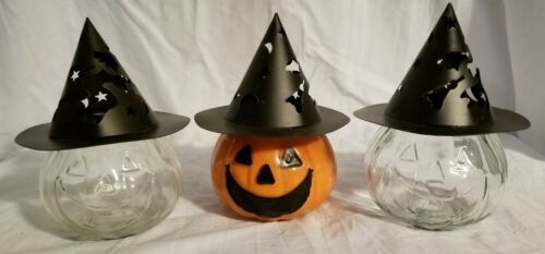 Hat for 10 Ounce Clear Glass Jack-O-Lantern Candle Jars Jar Sold Separately