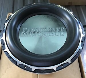 New-PAIR-Old-School-Earthquake-Subzero-DVC-12-Comp-Subwoofers-RARE-USA-SPL