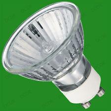 3x 50W GU10 Halogen Reflector Spot Light Bulbs with UV Protection Downlight Lamp