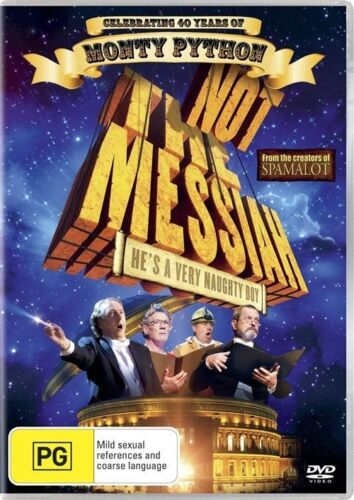 1 of 1 - Not The Messiah - He's A Very Naughty Boy (DVD, 2010)
