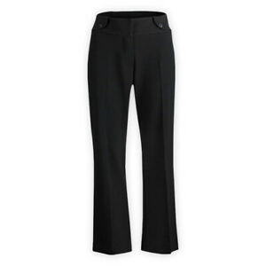 Womens-Ladies-Formal-Work-Party-Full-Length-Low-Rise-Bootcut-Tailored-Trousers