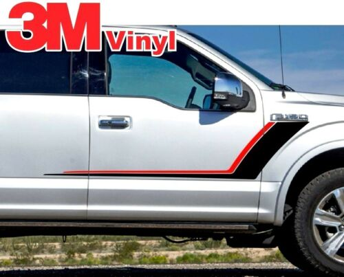 NEW Ford F-150 XLT Nightmare Style Graphic Decal Stripe accessory