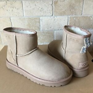 af0fddc6c7c Details about UGG Classic Mini 404040 Anniversary Sand Suede  Water-resistant Boots Size 7 Mens