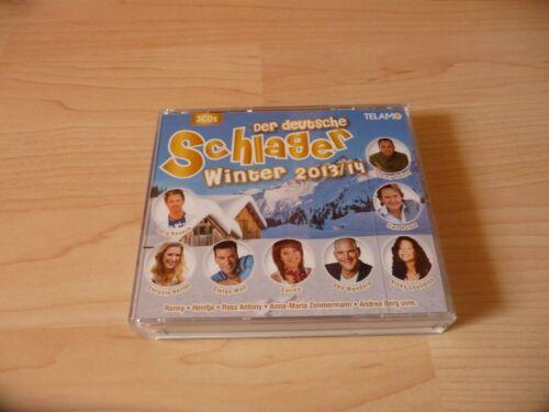 1 von 1 - 3 CD Box Der deutsche Schlager Winter 2013/14: Jörg Bausch Uwe Busse Andrea Berg