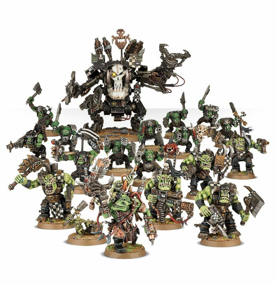 Start Collecting  Orks soldier painted action figure miniature   Warhammer 40K