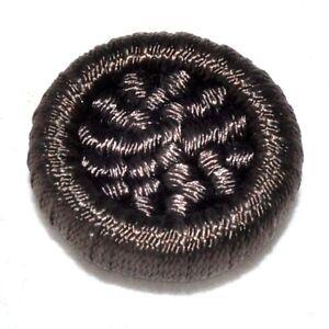 Objectif 1 Bouton Original Vintage Passementerie Sur Résine Marron 28mm Button Attrayant Et Durable