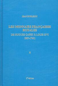LIBRAIRIE-LES-MONNAIES-FRANCAISES-ROYALES-Jean-DUPLESSY-tome-2-MAISON-PLATT