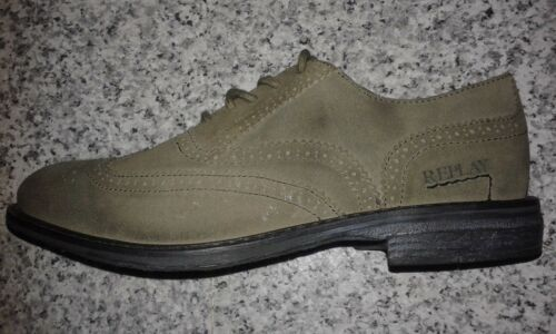 Samples Fashion Work Casual Scarpe 8 Uk Salesmen brogue Smart Leather Replay SwH5qFx