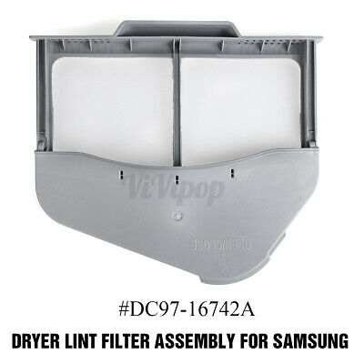 DC97-16742A Dryer Lint Filter Case Screen-Replacement for Samsung Dryer USA