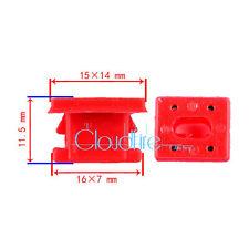 20x Interieurleisten Instrumententafel Verkleidung Clip Klip 51458266814 Für BMW