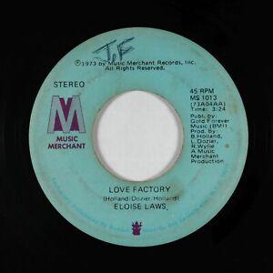 70s Soul Funk 45 - Eloise Laws - Love Factory - Music Merchant - mp3