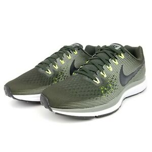 classic fit c1c52 99b74 Details about Nike Air Zoom Pegasus 34 Men's Running Shoes Sequoia Black  880555 302 Sizes 9-14