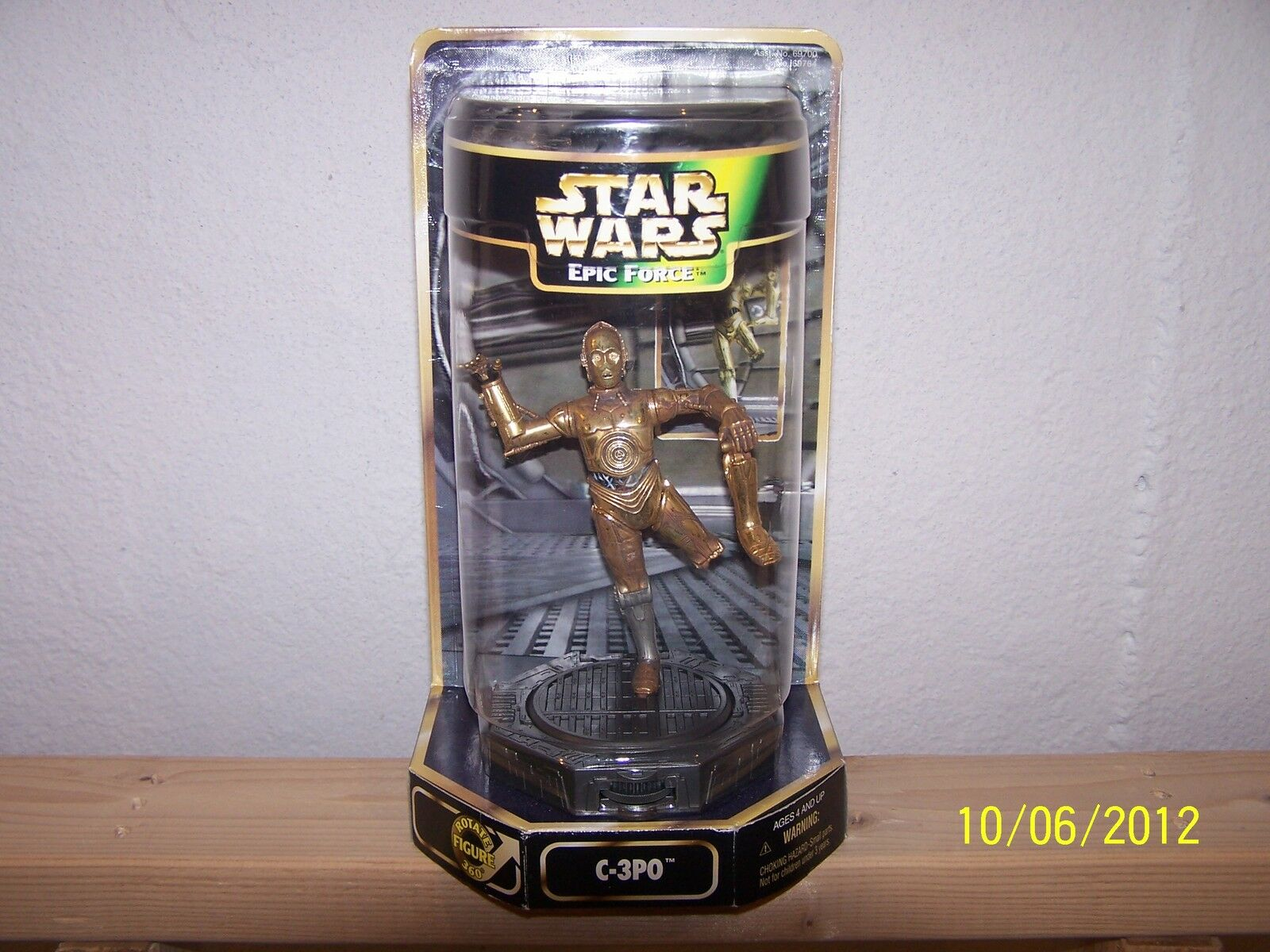 1997 Hasbro Star Wars Episode 1 Epic Force Movie Motion C-3PO