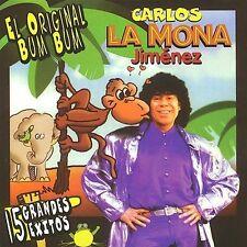 NEW - El Original Bum Bum - 15 Grandes Exitos by Jimenez, Carlos La Mona