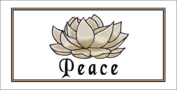 Spiritual Peace Lotus Flower Personalize Gifts