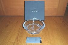 Versace Rosenthal CRYSTAL Arabesque Bowl Dish ~ Versace Box w/ Certificate