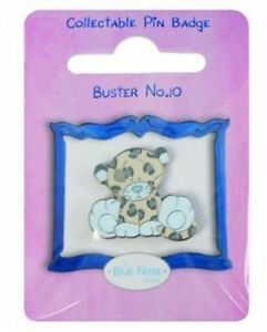 Me-To-You-Blue-Nose-Friends-Collectors-Pin-Badge-Buster-the-Leopard