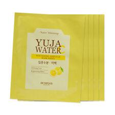 [Sample] [Skin Food] Yuja Water C Whitening Ampoule Mask Sheet x 5PCS