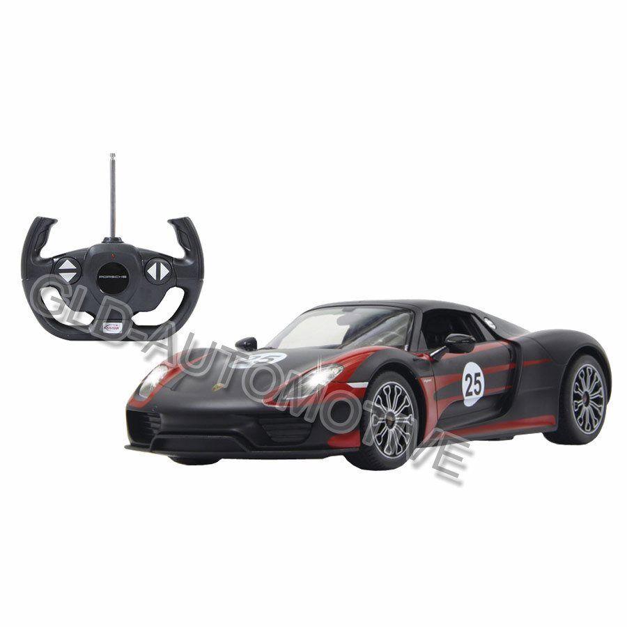 MODELLINO AUTO Porsche 918 Spyder Race Jamara Radiocomandato 1:14 Idea Regalo