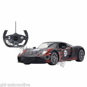 MODELLINO-AUTO-Porsche-918-Spyder-Race-Jamara-Radiocomandato-1-14-Idea-Regalo