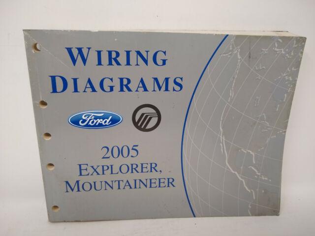Oem 2005 Ford Explorer Mercury Mountaineer Wiring Diagrams