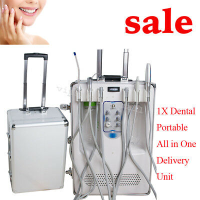 Portable Dental Mobile Delivery Unit w LED Curing Light Ultrasonic Scale  Clinic | eBay