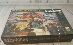 Details about Axis & Allies Spring 1942 WWII Strategy Board Game Avalon  Hill Complete EUC