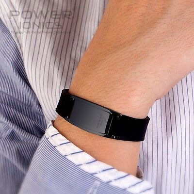 Power Ionics Titanium Classical 2000ions/cc Bracelet Band Balance Colors U pick
