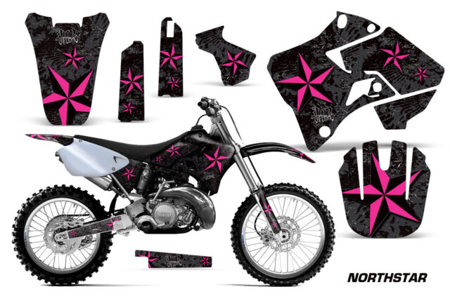 Dirt Bike Graphic Kit Decal Sticker Wrap For Yamaha YZ125 YZ250 96-01 NSTAR P K