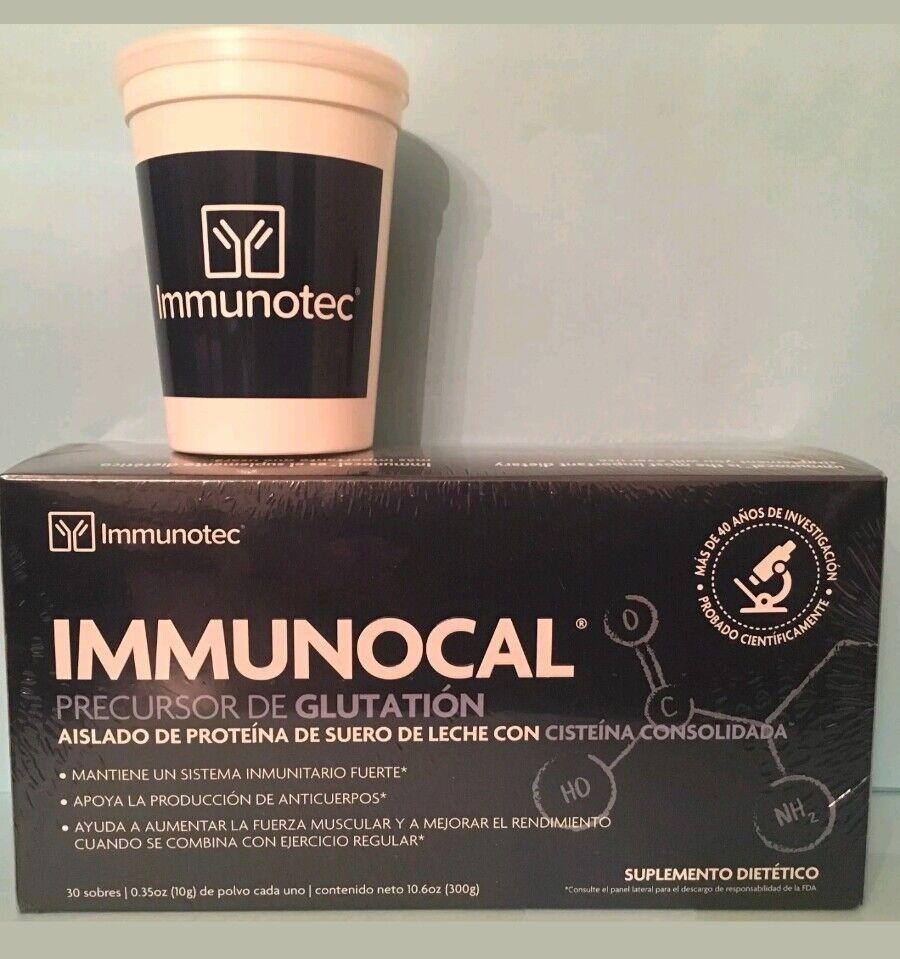 1 Box IMMUNOCAL 30 PK Natural source of Glutathione ORIGINAL  US Seller