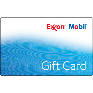 $100 ExxonMobil Gas Gift Card - Mail Delivery | eBay